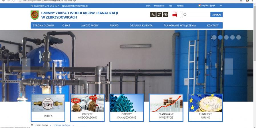 Witamy na naszej nowej stronie internetowej